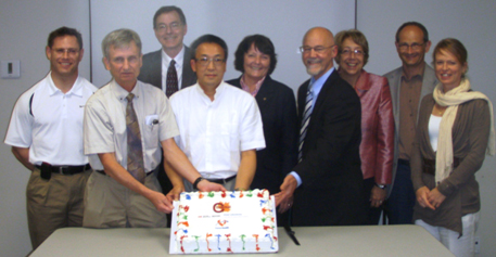 C-EnterNet celebrates launch of Sentinel Site 2 with FHA, BCPHMRL and BCCDC, June 2010