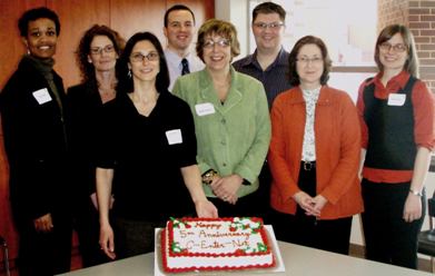 Waterloo and C-EnterNet celebrate 5th anniversary of Sentinel Site 1, March 2010
