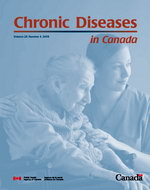 Chronic Diseases in Canada cover of the  PDF version